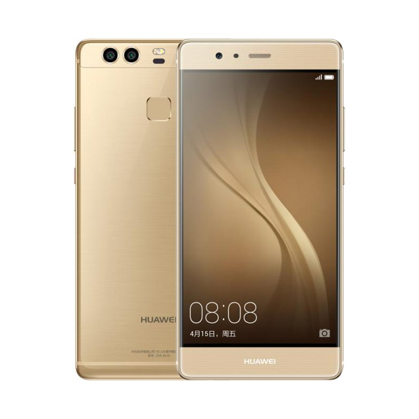 Huawei P9 4G LTE Teléfono Móvil 3G RAM 32G ROM 5.2 «FHD 1080P Dual Back 12.0MP Cámara Oro