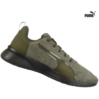 zapatillas puma verdes hombre