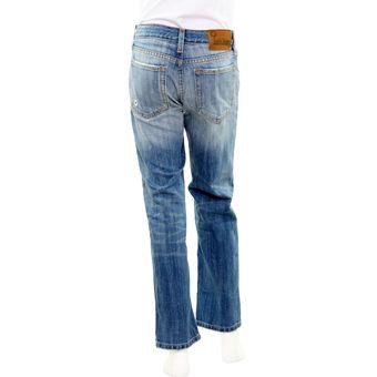 d6494ebe06 Pantalon Mezclilla Innermotion Jeans Para Niño 4094 Corte Slim - Azul