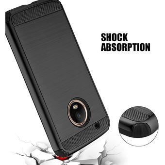 bae0e405c4c Funda Case Para Motorola Moto G5 Plus Doble Protector De Uso Rudo Armor Con Aspecto  Metalico