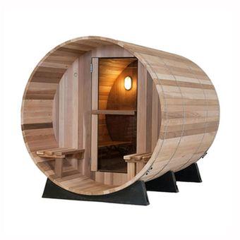 Compra Cabina Sauna Barril Madera Cedar 5M3 online Linio Chile