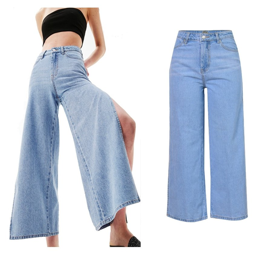 Pantalones Anchos Mujer Shop Clothing Shoes Online