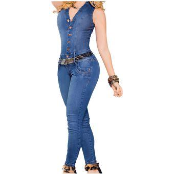 c63eaf084da1 Enterizo Adulto Marketing Personal Para Mujer Azul
