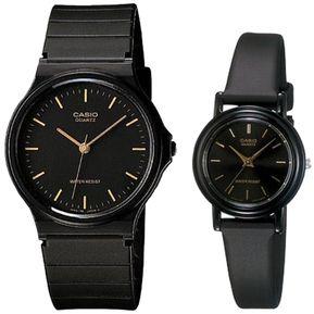 9c6702f914d4 Set de Dos Relojes Casio Mq-24-1e  LQ-139E-1A-