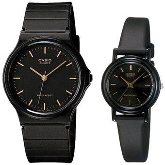 cccd73936b12 Compra Set de Dos Relojes Casio Mq-24-1e  LQ-139E-1A-Negro online ...
