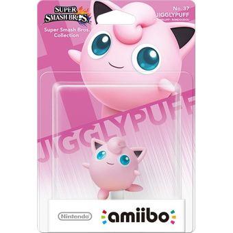 Figura Nintendo Amiibo Jigglypuff Colección Super Smash Bros.