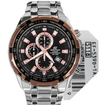 Edifice Hombre Ef Reloj Casio 1a5vu Plateadobronce 539d DHW9YbeE2I
