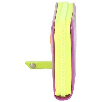 4ff64344099 Billetera Cloe cierre sencillo con diseño de agatha ruiz de la prada -  morado