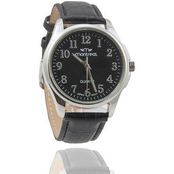 53404a4a4377 Compra Reloj Montreal Hombre Md Negro Fondo Negro online