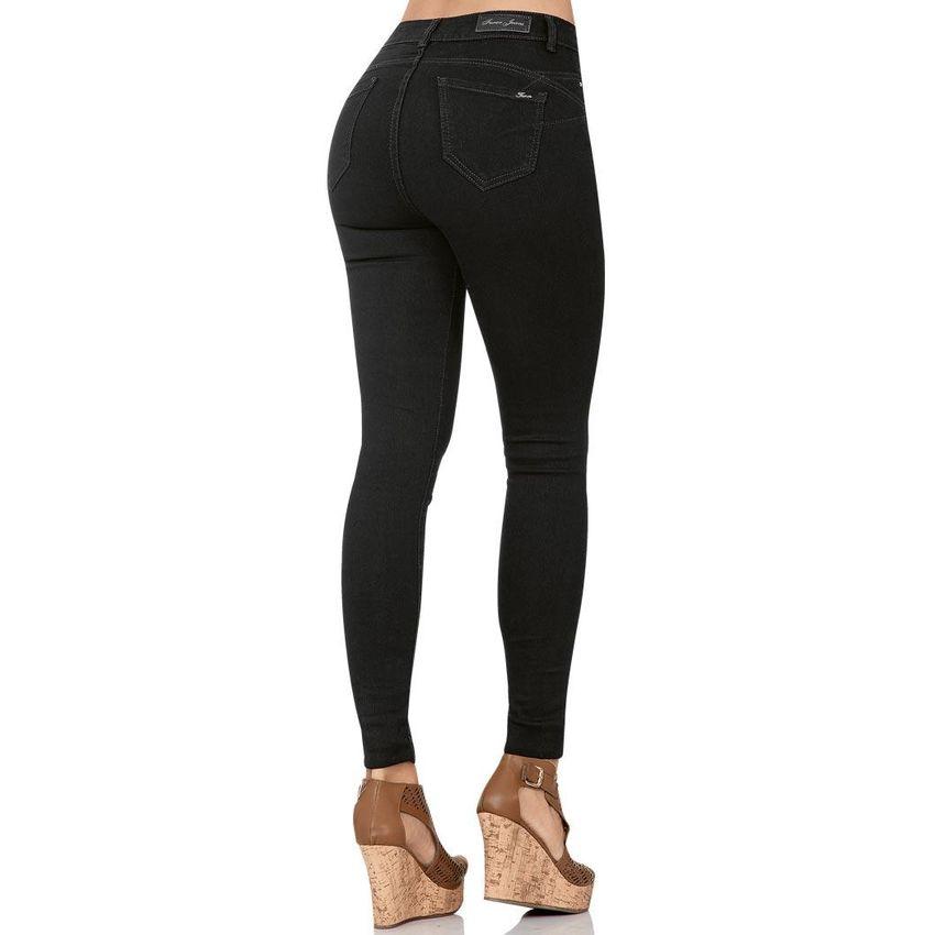 Jeans Furor Mujer Negro Mezclilla Stretch Pink Fu873fa0mr3chlmx 1dpfp4hg