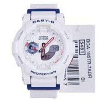 48d93fda8f7d Compra Reloj Deportivo Casio Baby G BGA-185TR-7A Blanco Para Mujer ...
