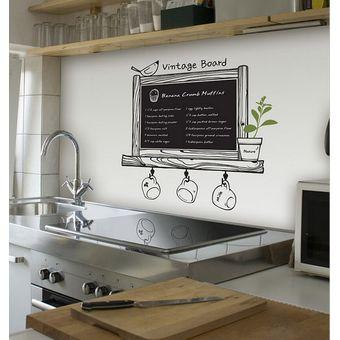 Compra vinil decorativo para cocina restaurant cafeteria - Papel vinilo para cocinas ...