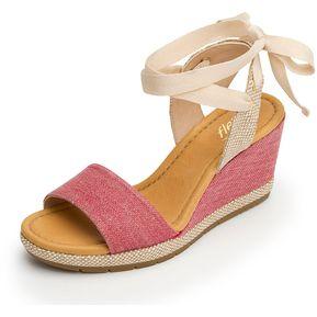 321ca108 Sandalia Flexi Para Mujer Plataforma - 35603 Rosa
