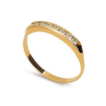 a76816b09d6c Compra Anillo Vanité Sensitive Oro Laminado -Blanco online