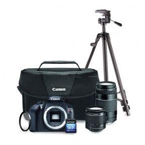 a4338bd290 Kit Cámara Canon EOS T6 Premium + 2 Lentes + Trípode + SD Lexar 16GB
