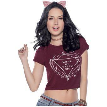 7469a37ccb003 Compra Blusa Juvenil Para Mujer Marketing Personal 33140 Vinotinto ...