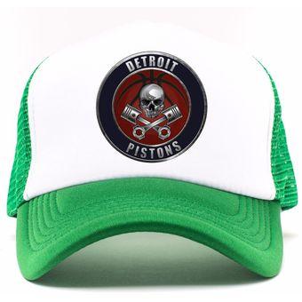 b18d02e356627 Compra Gorra Verde Frente Blanco Personalizada Logo Detroit online ...