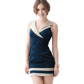 8b3ea7e9c6 Vestido Vanni 5024.2 Marinero Blusa Falda-Azul