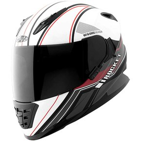ec0324d49887a Casco Integral Joe Rocket RKT 16 Series Reflex - Blanco