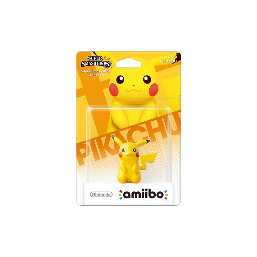 Figura Nintendo Amiibo Pikachu Colección Super Smash Bros.