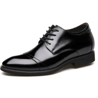 4603ea3de3d72 Compra Zapatos De Vestir Hombre Plantilla Alta - Negro online ...