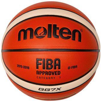 Compra Balón Molten Gg7x Basket Basquetball Oficial Fiba Original ... 05672b8230169
