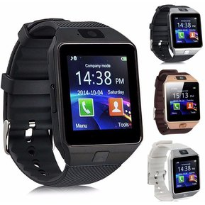 898e45a03fd31 Smart Watch DZ09 Bluetooth Táctil Con Chip   Cámara - Negro