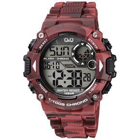 a533f98c75f8 Reloj Q Q M146J006Y Deportivo Para Caballero Rojo  Camuflado