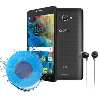 Celular Alcatel Pop 4s 5″ 16GB + 2GB Ram 13Mpx + Audifonos + Bocina