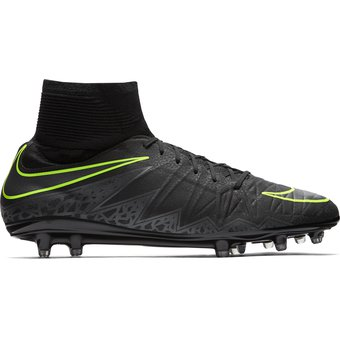 46e632a8c608a Compra Zapatos Fútbol Hombre Nike Hypervenom Phatal II Df FG-Negro ...