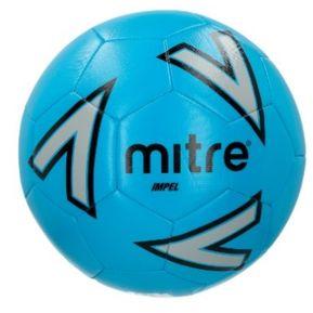 Balon Futbol Mitre New Impel N°4 Azul Gris Negro 3e28dcd80184d