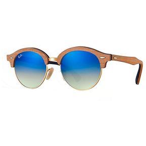 535de8fc4 Ray ban clubround rb 4246 1180/7q madera clara/azul degradé espejado