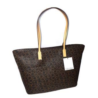 Compra Calvin Klein - Cartera Calvin Klein CBH - Marron online ... 3d0d4eccf46