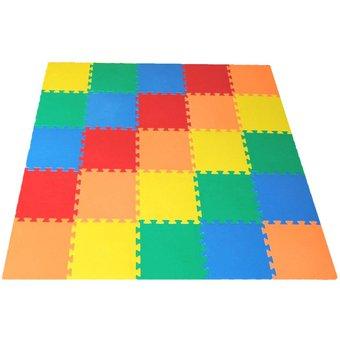 Compra alfombra piso antigolpes ni os bebes 25 piezas de goma eva online linio per - Alfombras de goma espuma para ninos ...