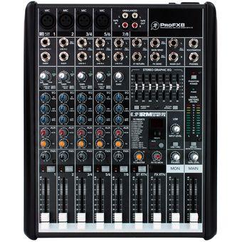 Consola Mezclador Audio MACKIE PROFX8V2