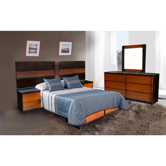Compra Juego De Dormitorio Luciana De 2 Plazas Online