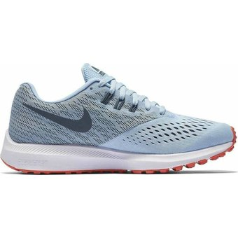 Compra Zapatillas Running Mujer Nike Zoom Winflo 4-Gris online ... 74a3d28b45846