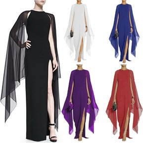 05287c2cfae3 Vestido largo de Fiesta Fashion-Cool para Mujer-Negro