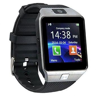 5a5d75b39dda SmartWatch Reloj Inteligente Bluetooth Mini Camara De Telefono SIM SD DZ09