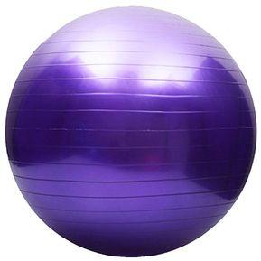 Pelota Yoga Y Pilates Terapéutica Y Deportiva De 85 Cm Con Inflador - Morado b0441fdc45f0