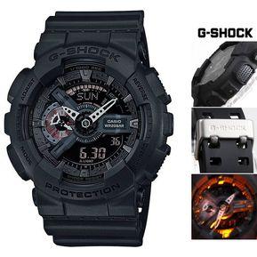 37ac3c8d8380 Reloj Casio Para Caballero GA 110MB 1A En Resina Negro