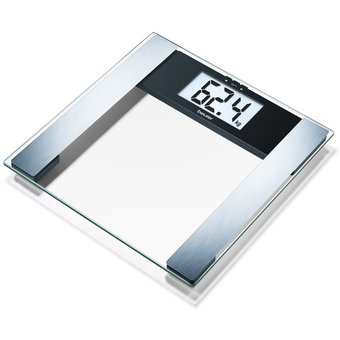 Balanza Digital De Diagnostico Beurer Bg17 150kg Lcd 40mm – Plateado