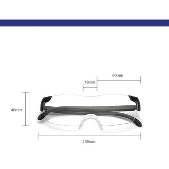 fb5f4c2be324e Compra Lentes Big Vision Originales Aumento 160% Gafas Lupa online ...