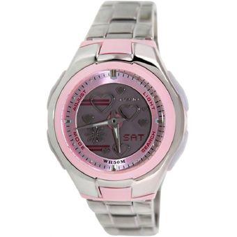 6f2a6f9369af Compra Reloj Casio Poptone LCF-10D-4A En Acero Rosado online