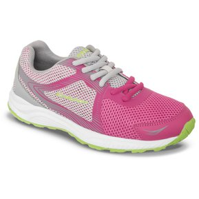 sports shoes 2d7ee f6c08 Tenis Lunter Gris Fucsia Para Mujer Croydon