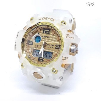 Transparente 1523l Pulso Reloj Joefox Sumergible hdsrxtQC