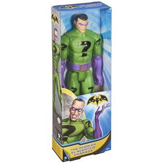 4cb9f9002 Figura de Acción Super Articulada DC Comics El Acertijo - Multicolor