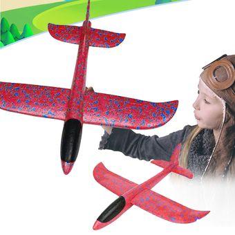 006362aed8 nuevo estilo niños modelo de avion de juguete colorido espuma mano lanzar  lanzar avión planeador juguetes