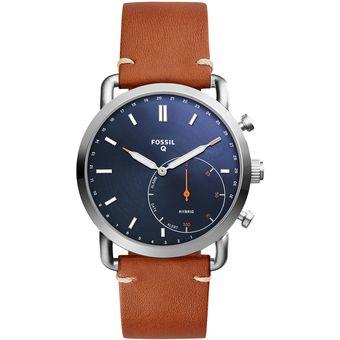 ab3953e9a7e9 Compra Reloj para Hombre Fossil Q Híbrido FTW1151-Café online ...