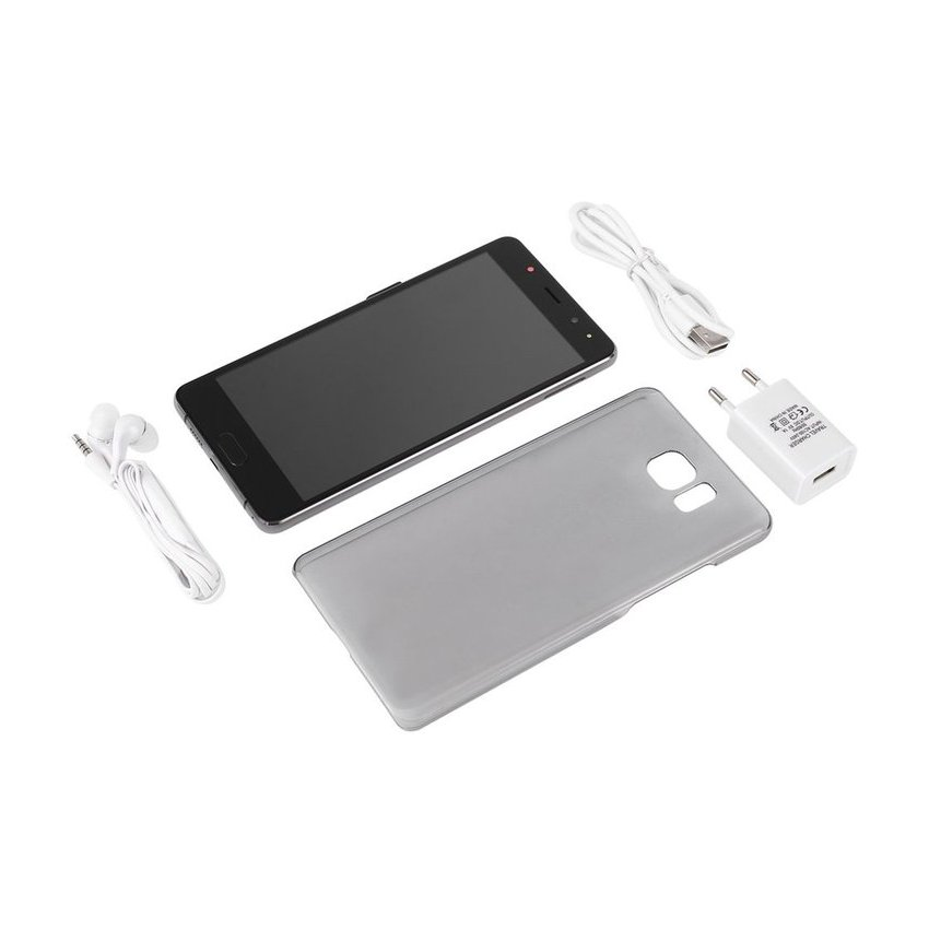 6 Pulgadas MTK6580 Smartphone Android De Teléfono Celular Para S8 Negro Soporte Dual Sim Dual